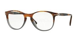 New Persol Eyeglasses PO 3115V 9034 Fuoco E Ardesia Havana Authentic Fast Ship - $280.00