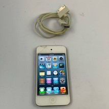 used Apple iPod touch 4th Generation White (8 GB) Portable Media Device Unlocked - $19.77