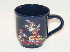 WALT DISNEY'S MICKEY MOUSE THE BAND CONCERT 14 oz BLUE CERAMIC COFFEE (G... - $14.99