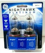 GE Headlight Bulb Nighthawk Platinum Halogen Headlamps New In Package 90... - $14.50