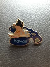Disney Lilo and Stitch Pin Hawaii Aloha State 2002 Collectible Lilo Surfing - $24.70
