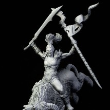 Woman - Warrior - Ancient - 3D - Printed HQ - Resin Miniature - Unpainted - Dung - $14.99