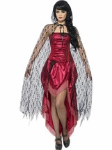 Gothic Lace Cape, Halloween Fancy Dress Accessories, #CA - $19.57