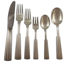 Fontaine by O. Mogensen Danish Sterling Silver Flatware Set Hand Wrought... - $3,650.00