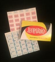 Vintage 1964 Jeopardy board game- complete set image 5