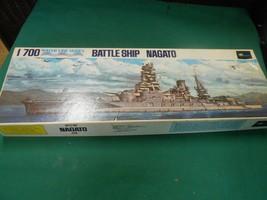 Great Collectible Vintage Nib Water Line Series 1/700 Battleship Nagato (Japan) - $74.83