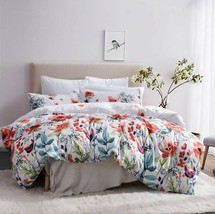 Leadtimes Queen Duvet Cover Duvet Cover Set Floral Boho Hotel Bedding Sets With - $85.55