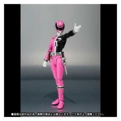 Power Rangers Nouvelle Série Dekaranger Deka Rose S.H Figurines Bandai Tamashii