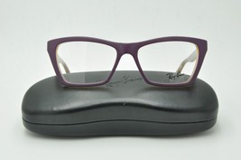 Ray Ban RB 5316 Eyeglasses 5390 Matte Purple Frames 53mm + Case - $64.47