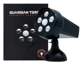Guardian Torch Security Lights Motion Outdoor Spotlight (1 Pack) - $27.95