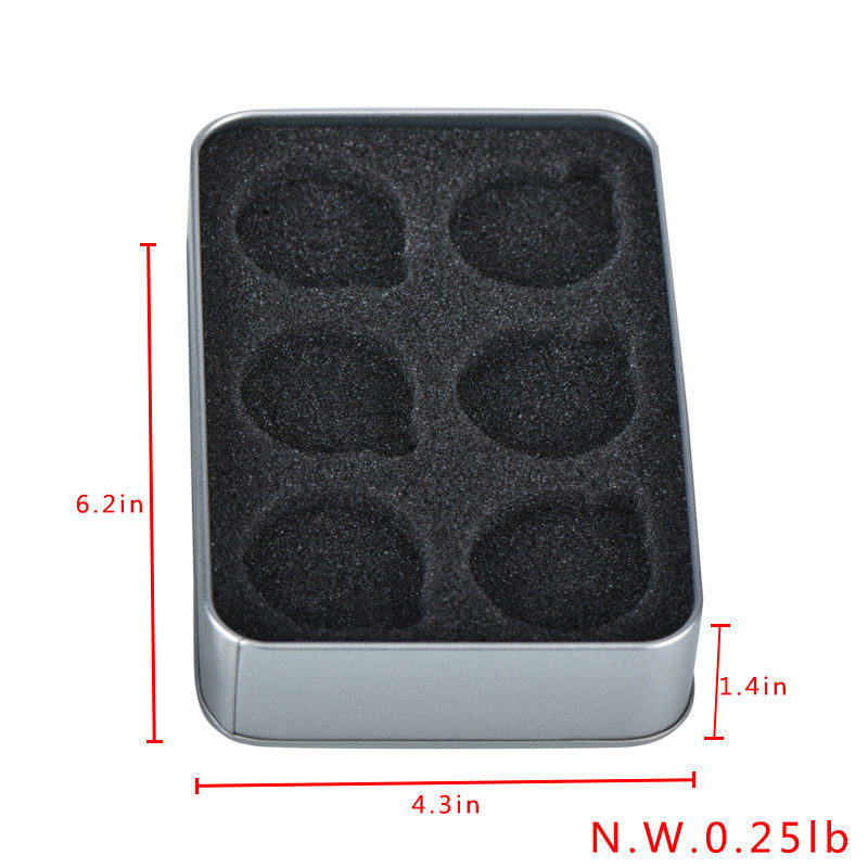 WR Coin Tin Silver Case Display Box Storage Holder for 6 40mm Coins Collect Item image 4
