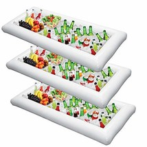 Inflatable Serving Bar Salad Ice Tray Food Drink Containers - BBQ Picnic... - £13.03 GBP