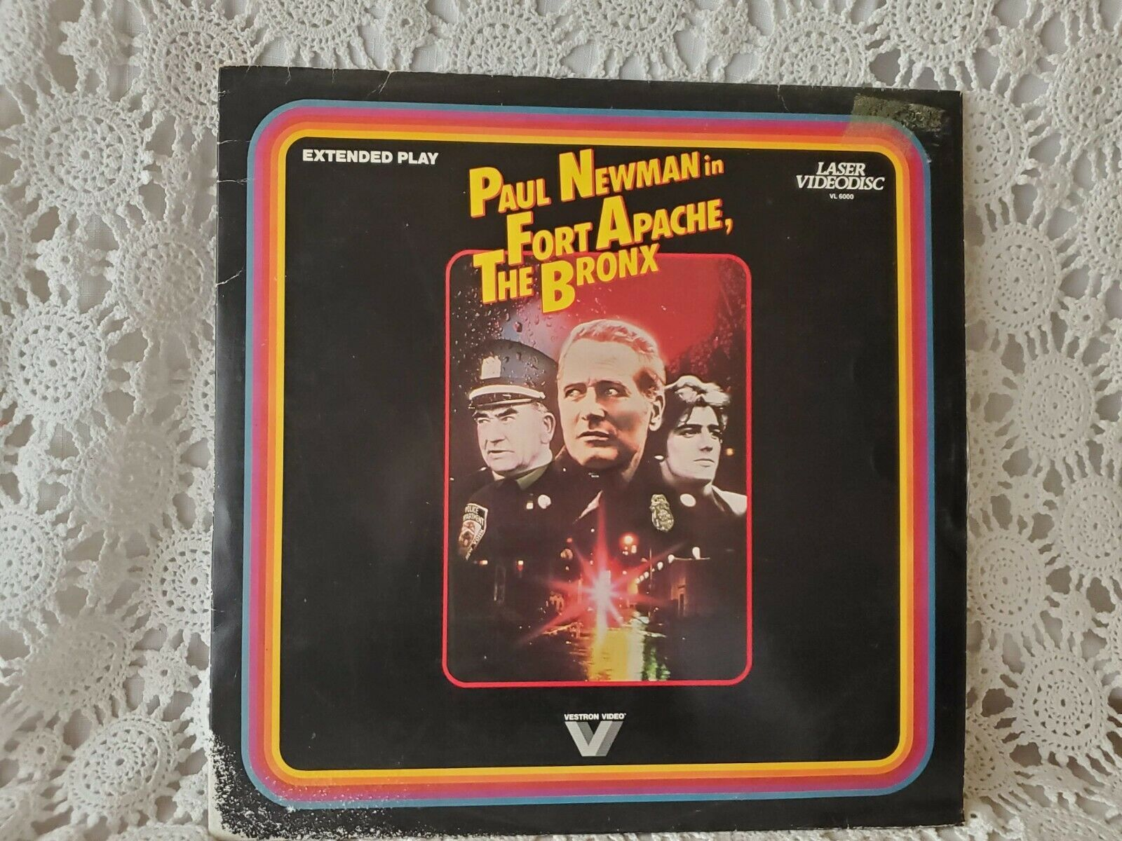 Primary image for Paul Newman In Fort Apache The Bronx Laser Disc Video Vintage Complete 1982