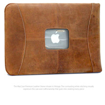 "MacCase Premium Leather 15"" MacBook Pro Sleeve - $109.95"
