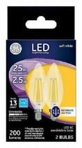 G E Lighting 22560 2.5W Bc Bulb Three 2 Packs, Six Bulbs Total! - $62.58