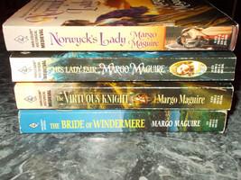 Harlequin Medieval Historical Margo Maguire lot of 4 paperbacks - $4.99