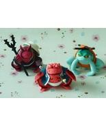 Handmade Naruto Shippuden Gamabunta Gamaken Gamahiro Action Figures for ... - $45.00