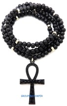 Ankh Neu Ägyptische Anhänger Halskette Mit Strass - $15.24+