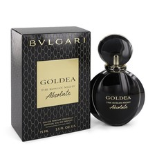 Bvlgari Goldea The Roman Night Absolute by Bvlgari Eau De Parfum  2.5 oz... - $79.05