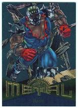 Fleer Marvel Metal #68 RAGE Silver Parallel Chase Card - $2.93