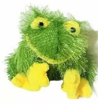 """Ganz Webkins 2002 Frog Toad No Code Yellow & Green 8"""" Rare - $12.86"""
