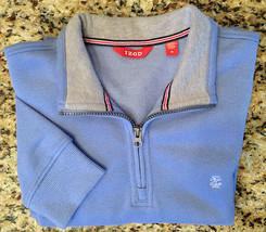 IZOD Quarter Zip Pullover Sueded Fleece Sweater - Men's Medium - Colony ... - $26.00