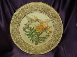 Vintage 1981 Lenox Limited Edition Boehm Birds Plate Eastern Phoebe Coll... - $19.80