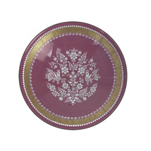 Vintage Mid Century Eva Scherer Wein Austria Enamel Bowl Pin Tray Floral... - $15.85