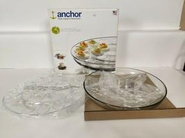 "Anchor® Anchor Hocking™ 3pc Presence Deviled Egg Platter Entertainment Set 13"" - $14.88"