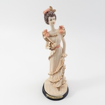 Marlo Collection by Artmark Victorian Lady Figurine in Frilly Dress image 1