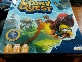 Loony Quest Board Game incomplete game used parts - $3.96