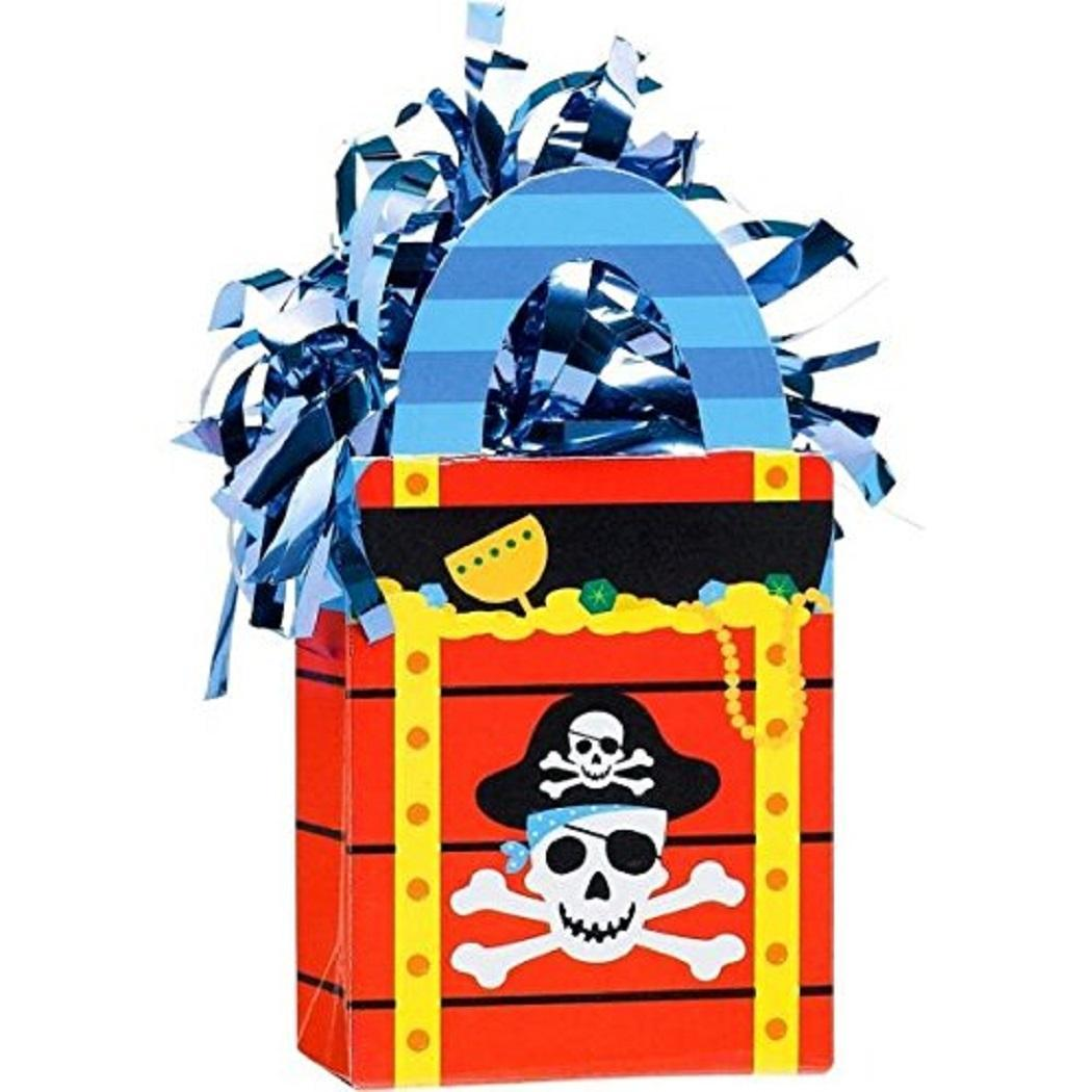 Primary image for Pirate's Treasure Caribbean Birthday Party Decoration Gift Bag Balloon Weight