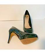"Vince Camuto Womens Sz 8.5 38.5 Black Patent Leather Heel Pump Shoes 4"" ... - $42.06"