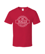 Eat Halls Cheaper Than Therapy Funny Favorite Fast Junk Food T Shirt - $20.99+