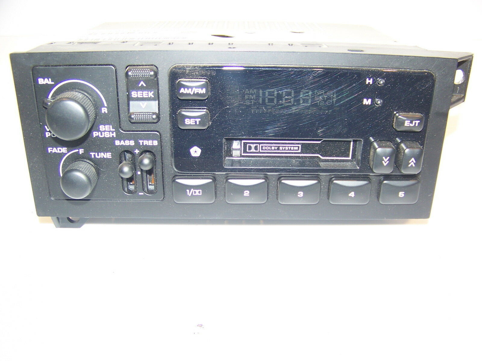 DODGE JEEP AM/FM CASSETTE RADIO OEM #P04704365 SPIRIT RAMCHARGER TRUCK 90'S NOS - $179.99