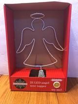 25 LED Angel Tree Topper December Home Ships N 24h - $31.99