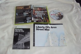 GRAND THEFT AUTO IV Xbox 360 PAL REGION Disc Manual Map Art And Case VG ... - $8.90