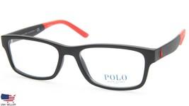 New Polo Ralph Lauren Ph 2169 5284 Matte Black Eyeglasses Frame 54-17-145 B34mm - $97.98