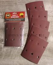 RIDGID R2500 / CRAFTSMAN 315279840 - 1200 Grit - PrePunched - 5 Sandpaper Bundle - $7.49