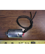 8VV18  MOTOR FROM AIR COMPRESSOR: 12VDC, #18308 C05-96, VERY GOOD CONDITION - $7.80