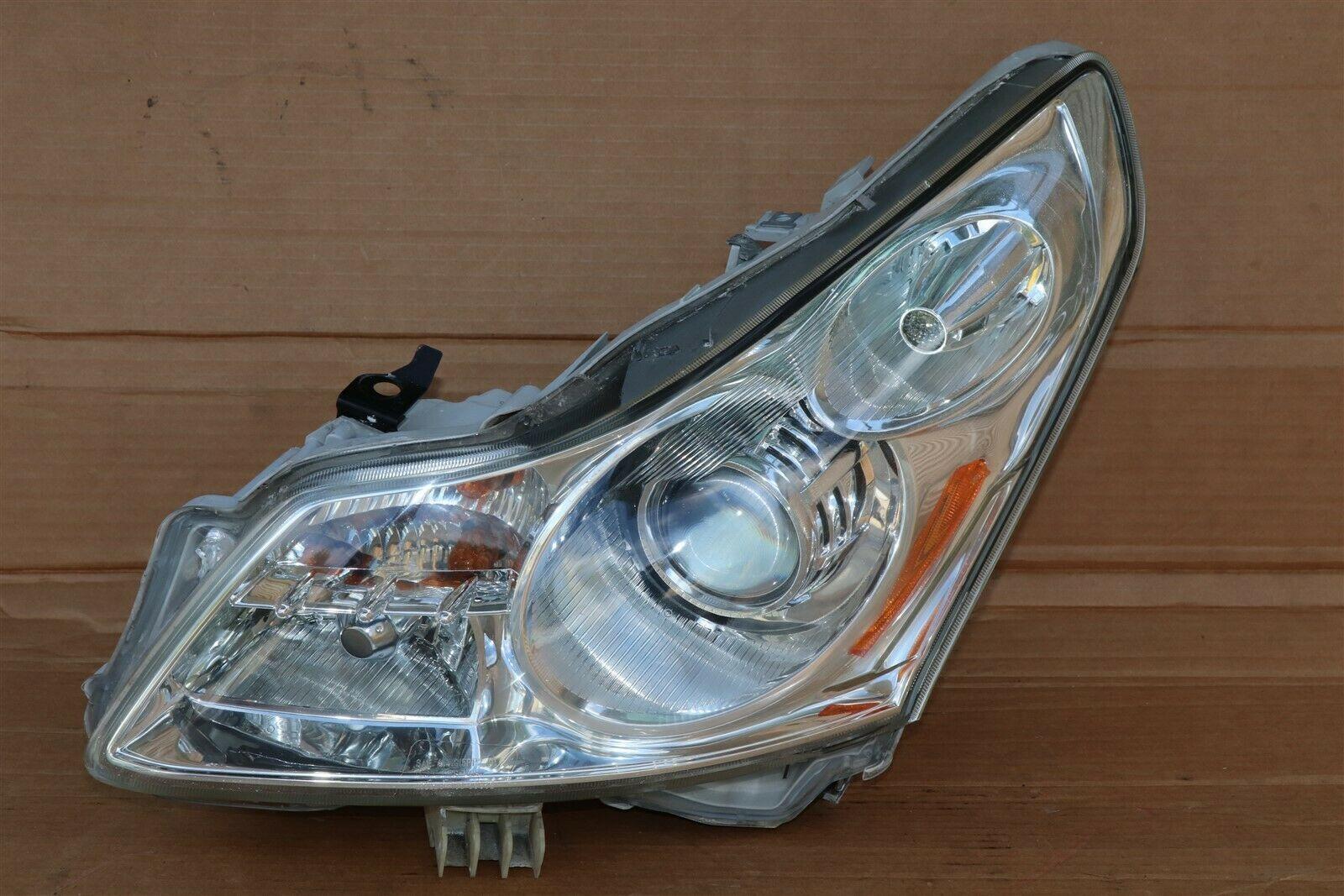 07-09 Infiniti G35 G37 4door Sedan Xenon HID HeadLight Lamp Driver Left LH