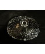 Crystal Oval Candy Dish W/Lid-Kristal Zajecar/Yugoslavia - $8.50