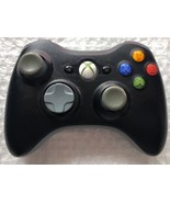 ☆ Official Microsoft Xbox 360 Wireless Controller Matte Black NO Battery... - $16.99