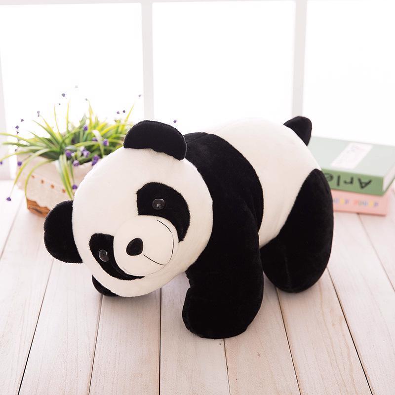 2017 new simulation plush panda toys 25cm and similar items
