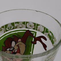 """1999 Warner Bros 5 3/4"""" Looney Tunes Tasmanian Devil Drinking Glass AS IS image 4"""