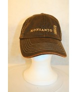 K-Products Monsanto Logo Baseball Dad Trucker Adjustable Cap Hat Agricul... - $74.95