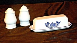 Pfaltzgraff Salt, Pepper and Butter Container 028 AA20-2131 Vintage image 2