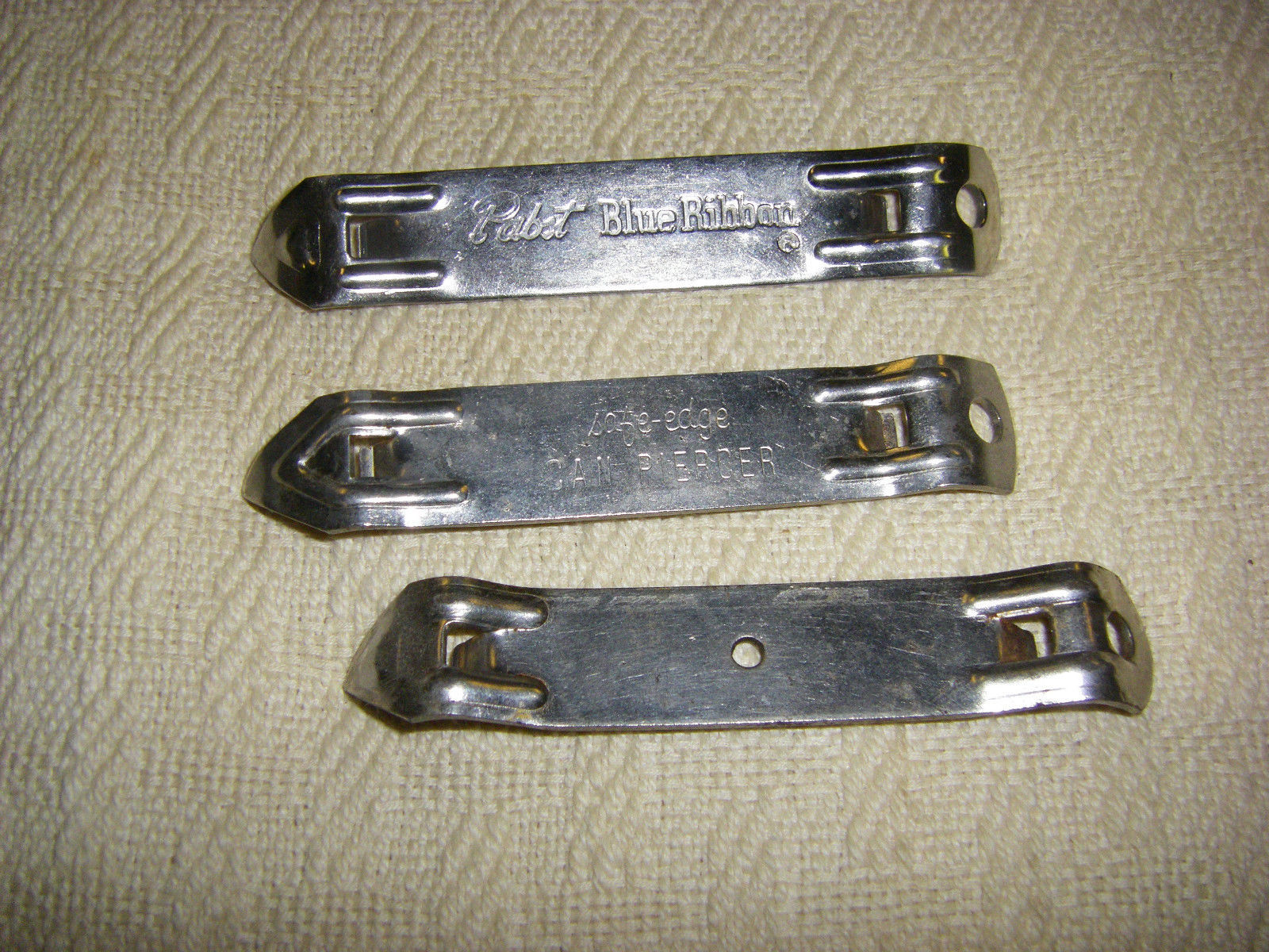 7 Beer Openers Vintage Collinsware and others
