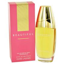 Estee Lauder Beautiful Perfume 2.5 Oz Eau De Parfum Spray image 3