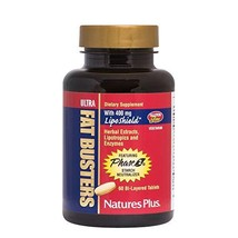 Natures Plus Ultra Fat Busters - 60 Vegetarian Tablets - Weight Manageme... - $30.93